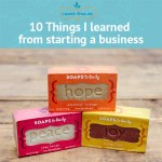 Ten things I learned from starting a business