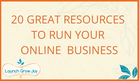 20 Great resources to run your online