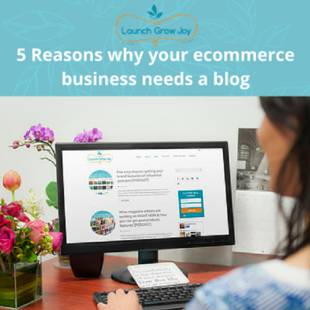 Five reasons why your ecommerce business needs a blog