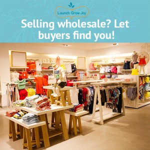 Selling wholesale? Let buyers find you