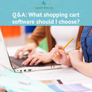 What shopping cart software should I choose
