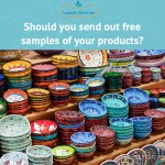 ASK ANDREEA: Should you send out free samples of your products?